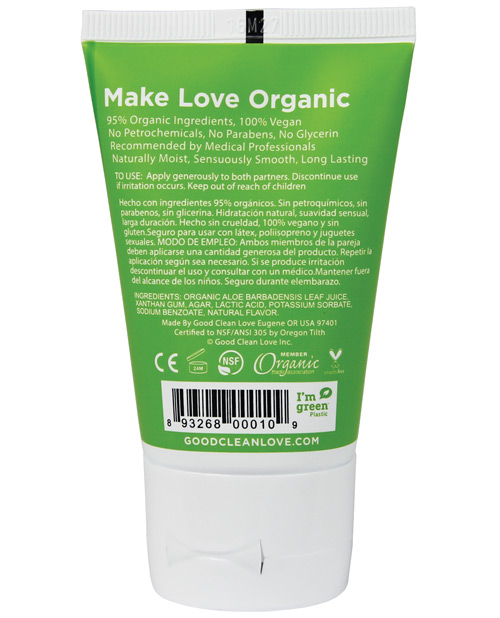 Organic Lube   Almost Naked® Personal Lubricant 1.5 oz